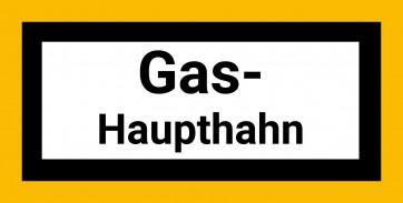 Gas Schild Aufkleber