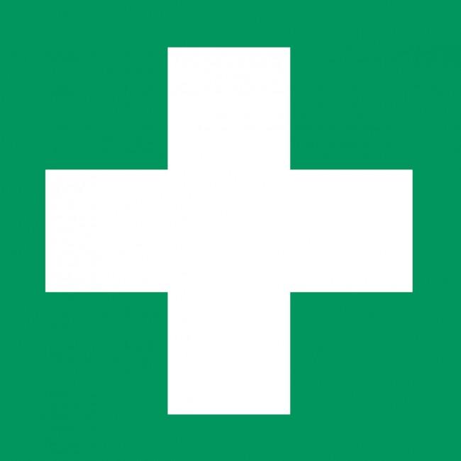 """Erste hilfe symbol  Aufkleber """"Erste Hilfe"""" Zeichen"""
